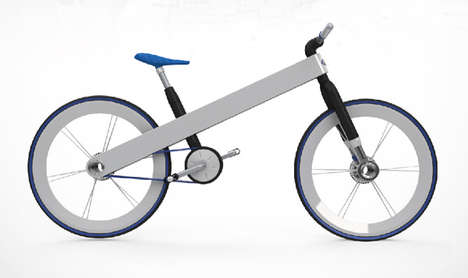 Systematically Assembled E-Bikes - The Toyota Hybrid Electric Bike is Clean of Any Mechanical Bulk