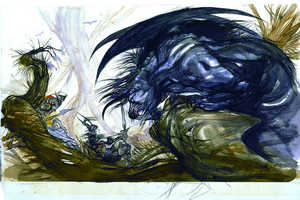 Yoshitaka Amano's Final Fantasy Art is Collected in a New Book
