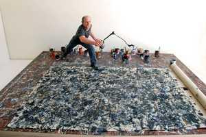 Joe Fig Creates Mini Portraits of Painters in Their Workspace
