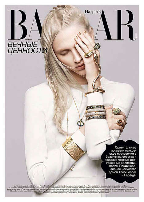 Harper's Bazaar Ukraine March 2013