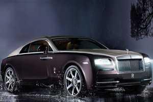 The Rolls-Royce Wraith is the Company's Fastest Car Ever Built