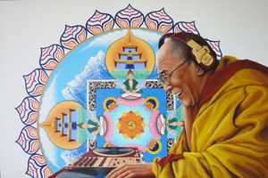 Arotin Hartounian Interprets Dalai Lama as the Ultimate DJ