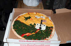 The Paint Your Pizza Application Allows One to Design and Dine