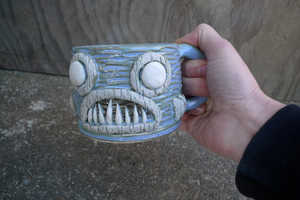 The Piranha Coffee Mug Features a Deadly Underwater Creature