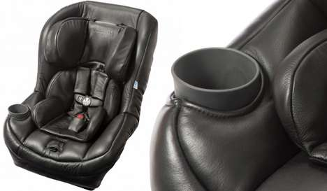 Upscale Baby Car Seats - Maxi-Cozi Pria 70 Launched a Leather Edition for Traveling in Style