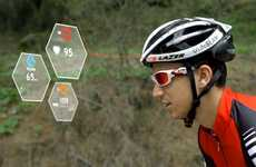 Heart-Sensoring Cycling Helmets