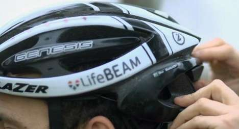LifeBeam cycling helmets
