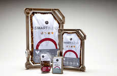 Cardboard-Framed Branding