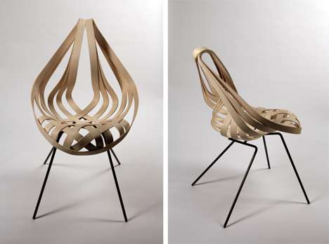 Origami-Inspired Furniture - Student Designer Laura Kishimoto Creates Practical Works of Art