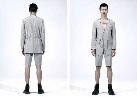 Minimalist Menswear Features