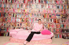 $30,000 Doll Collections - Stanley Colorite is the Barbie Man with Tons of Selection