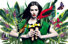 Charming Botanical Campaigns - The Loft37 Spring/Summer 2013 Advertorial is Vibrantly Floral