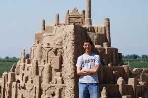 This Incredible Sandcastle Replica of Minas Tirith is Fantastical
