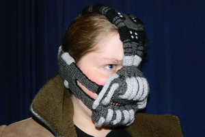 This Crocheted Bane Mask is Essential for Woolly Battles with Batman