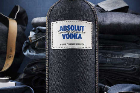 Denim bottle