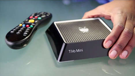 Home TV-Streaming Gadgets - TiVo Mini Lets TiVo Users Stream Content on Different Televisions
