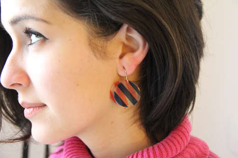 arty earrings