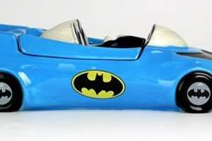 The Batmobile-Shaped Fun Cookie Jar is a Speedy Container