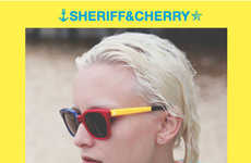 Vibrant Surfer Sunnies - The Sheriff and Cherry Spring/Summer Collection is Beach-Ready