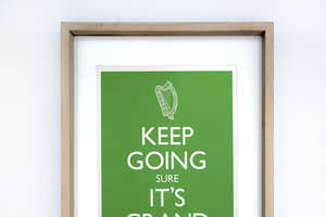 These Funny Irish Sayings Re-Appropriate the 'Keep Calm and Carry On' Poster
