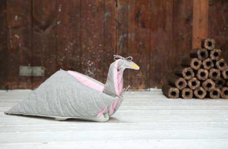 The Playful Bird Blanket