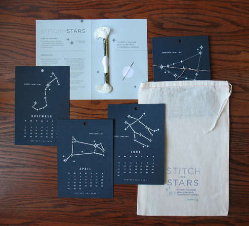 Glow-in-the-Dark Constellation Calendars
