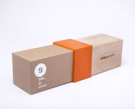 One Percent Shoes Packaging