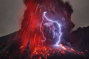 This Volcanic Eruption Spawned its Own Lightning and Amazing Shots