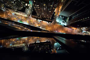 These Navid Baraty Photographs Showcase Dizzying Views of NYC at Night