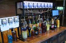 Mechanical Cocktail Mixologists - The Bartendro Robotic Drink Mixer is Remotely Controlled
