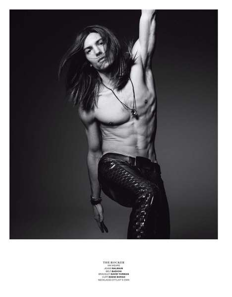 Retro Rockstar Editorials - The Character Study VMAN Editorial Pays Tribute to Musical Icons