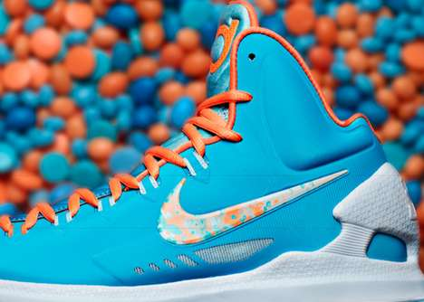 Vibrant Easter Sneakers - The Nike Basketball 2013 Easter Footwear Collection is Vivacious