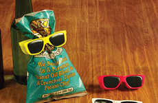 Sunglass-Shaped Snack Clips - These Hipster-Inspired Bag Holders are Colorful and Modern