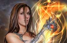 Jacqueline Goehner Dresses as Sara Pezzini from Witchblade