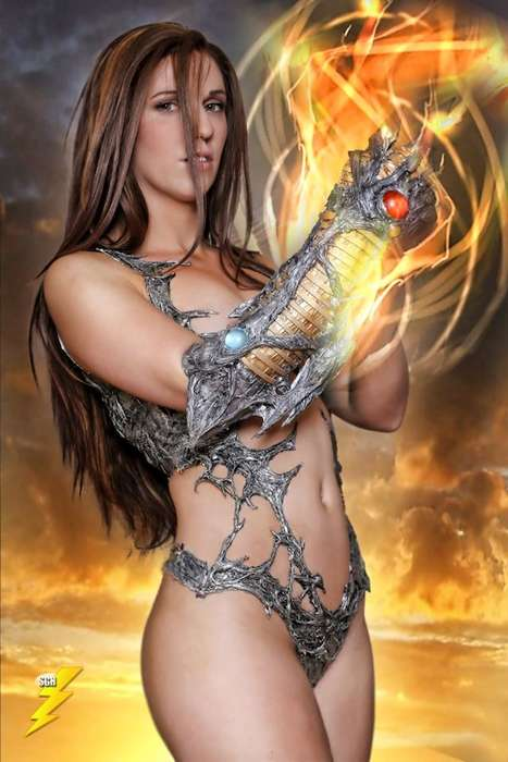 Scandalously Scanty Cosplay Getups - Jacqueline Goehner Dresses as Sara Pezzini from Witchblade