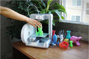 The Cube 3D Home Printer Lets Users Print Objects From Their Own Space