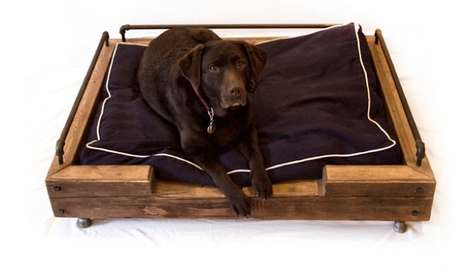 Reclaimed Dog Beds