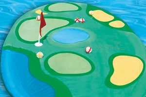 Get the Island Golf Set for a Refreshing Game of Pool Golf