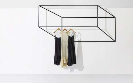 Les Ailes Noires Clothing Racks
