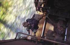Daring Train-Hopping Photography