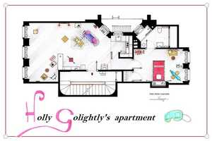 One Artist Recreates Famous Apartment Floor Plans From Television