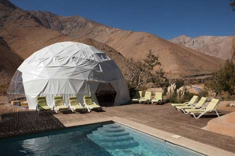 Canvas Domes at Elqui Domos Hotel