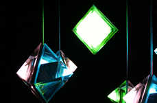 Prismatic Neon Illuminators - The XiX Light by Formfjord is Psychedelically Chic