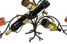 Metal Vine Vino Holders