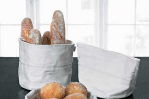 The Stelton Bread Bag is Conveniently Compact and Handy On-the-Go