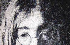 Paper Dot Celebrity Portraits