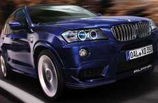 Bi-Turbo Luxury Vehicles - The BMW Alpina 'XD3' is a High Performance Bruiser