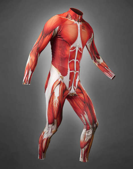 Muscle Skin Cycling Suit