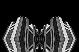 Mattia Mognetti's Photography Distorts and Manipulates Buildings