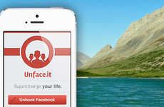 Offline Social Networking Apps - UNHOOK Facebook is an Offline Social Network for Facebook Addicts